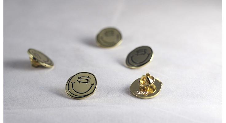 COIN LAPEL PIN