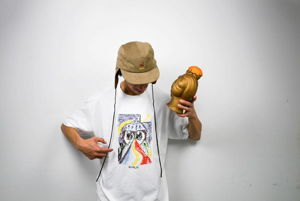 bay child flap hat buddha snack skateboards