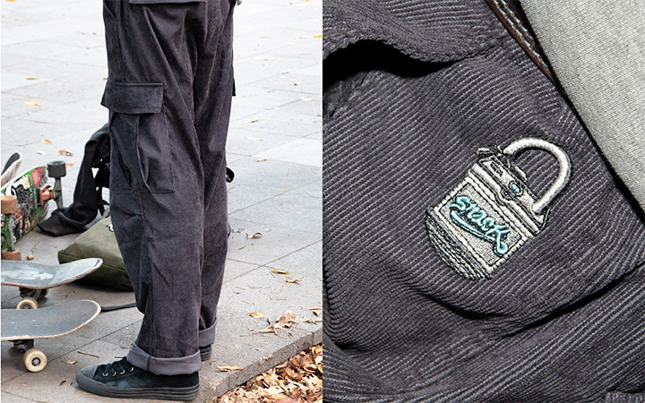 snack winter 21 lookbook master web unlock cargo pant
